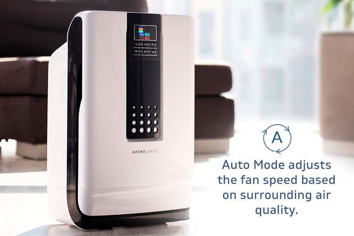 auto mode feature on hathaspace hsp001 air purifier
