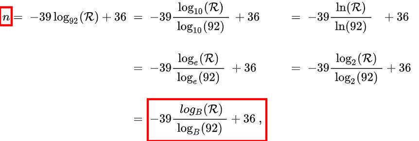 how to calculate awg wire gauge number formula