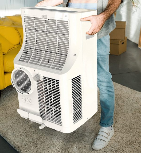 installing a portable air conditioner in an apartment