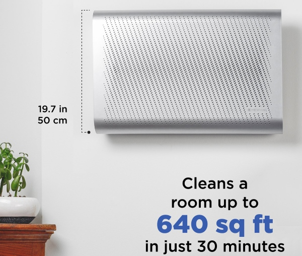 medify wall mounted air purifier with best air purifier position