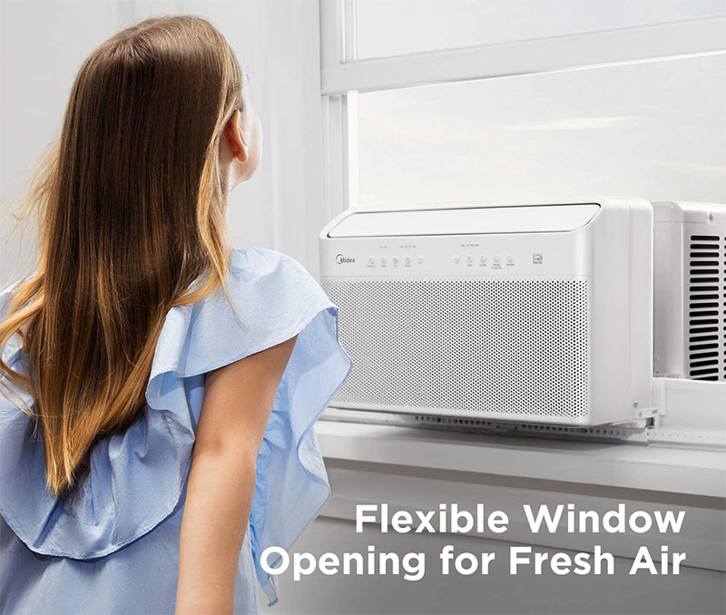 the best window air conditoner midea u shaped dc inverter