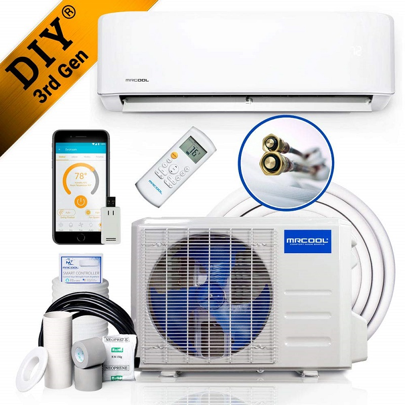 MRCOOL DIY DIY-12-HP-115B 3rd Gen mini split air conditioner