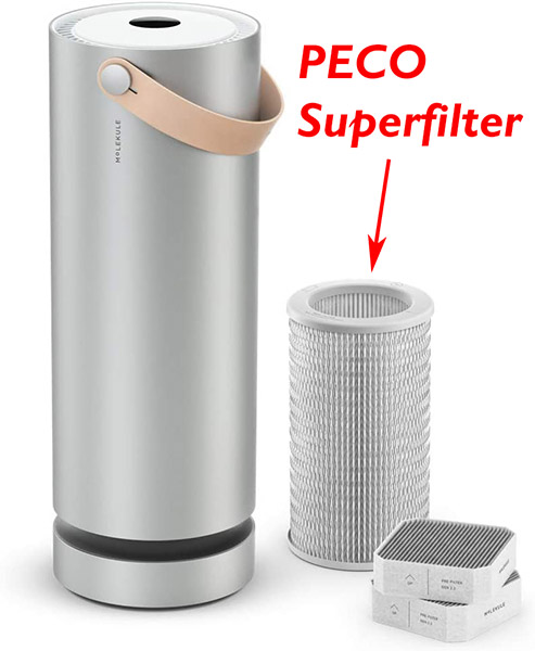 peco superfilter that makes air purifier work