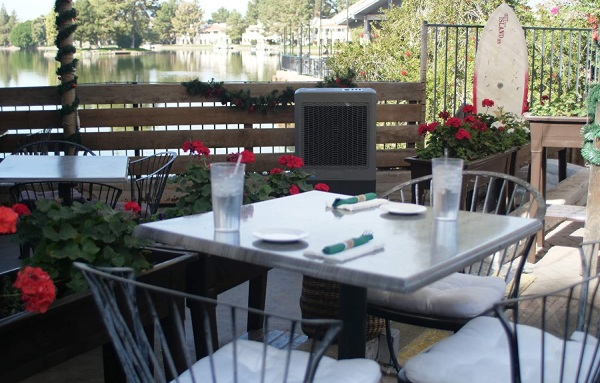 porch air conditioner for outdoors