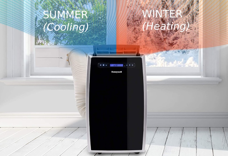 portable heat pumps capable of cooling and heating