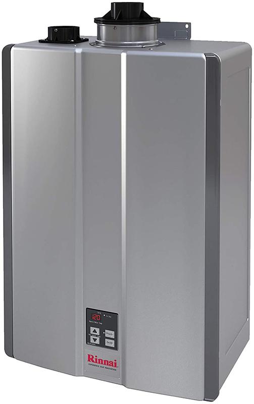high efficiency gas on demand heater by rinnai with 160.000 btu
