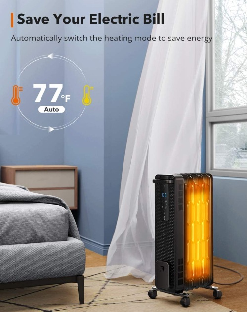 space heaters with eco friendly modes
