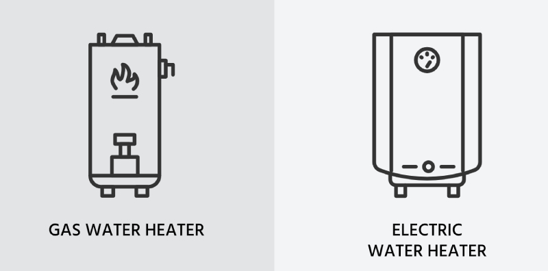 choice between gas and electric tankless water heater