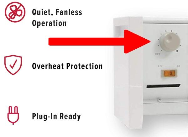 thermostat for baseboard heater