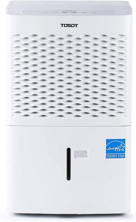 smallest dehumidifier with 30 pint capacity
