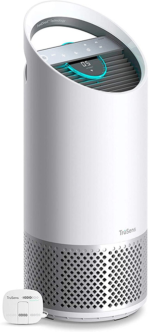 design of trusense air purifier with remove sensor