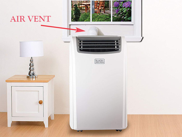 modern type of a portable air conditioner