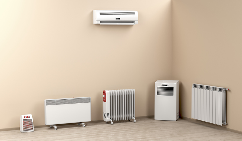 different types of air conditioner from stand alone units to split system units