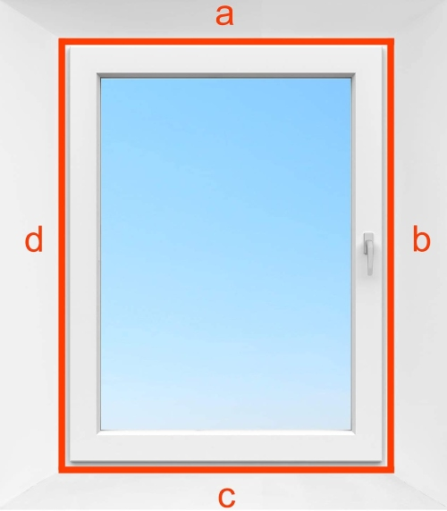 what window dimensions of window seal kit for portable air conditioner venting