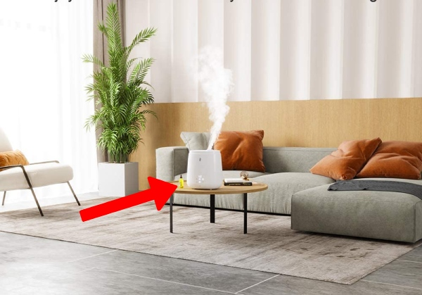 where to place a humidifier