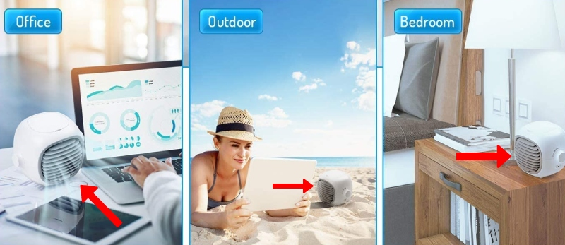 where you can use personal air conditioner in bedroom outdoors desktop